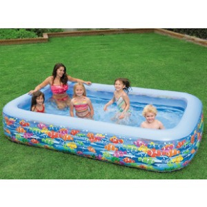 Latest Design Outdoor Baby Pool Children Inflatable Mini PVC Plastic INTEX Swimming Pool