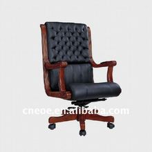Traditional leather executive swivel chair 6071A-1