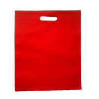 Die cut non woven gift carry bag