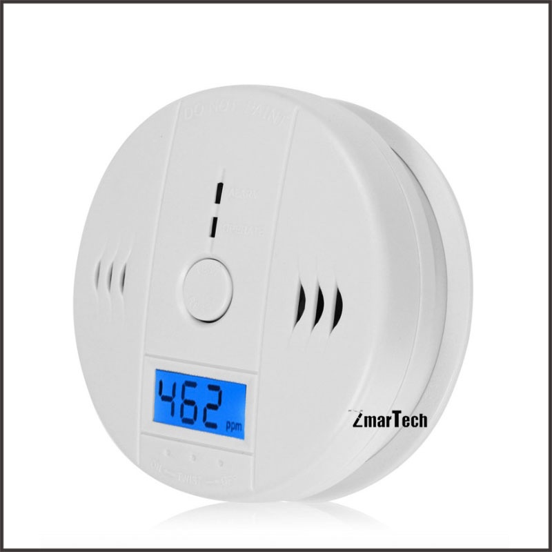 Professional carbon monoxide alrm gas detector with shut-off valve gas leak detector price