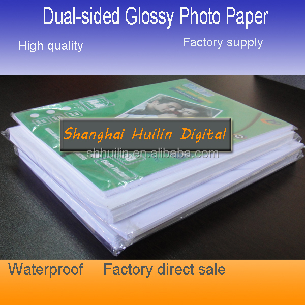 "Professional Waterproof Double Sided Calendar 200gsm 8.5""x11"" glossy inkjet photo paper"