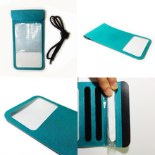 high quality shirley cloth duarable made phone 100% waterproof mobile case