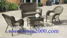 garden rattan lounge chair for outdoor