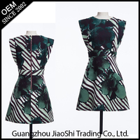 Free sample supply good designer latest new fashion one piece long green color women dress for lady