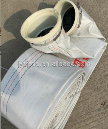 Polyester Filament Canvas Fire Lay Flat Hose For Agriculture Irrigation