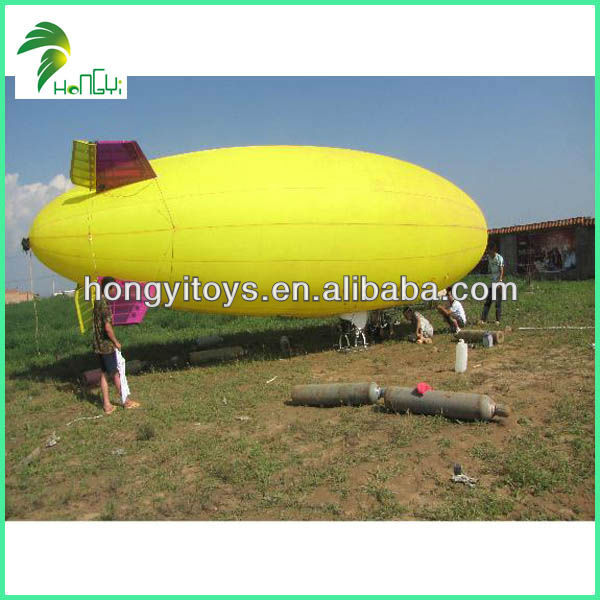 Customized Inflatable Airship / Radio Control Zeppelin / RC Blimp Outdoor