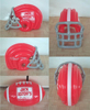 plastic kids and adults play inflatable football helmet