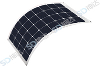 18W Flexible Solar Panel XF-5W, Directly charge iphone/ipad