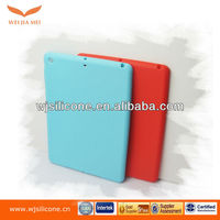 Food grade full protection silicone back case for ipad 5