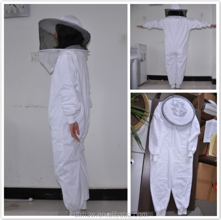kids 100% cotton Ventilated Beekeeping Protection suits(120-150cm), bee protective Clothing