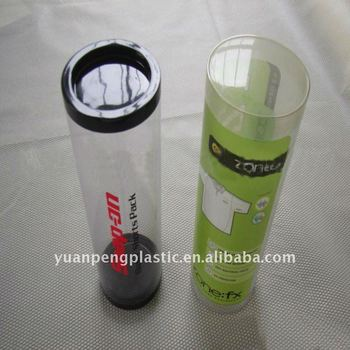 Plastic cylinder/plastic tube with printing