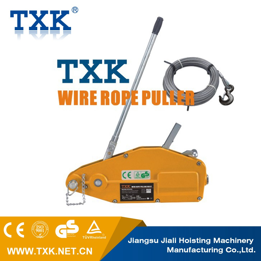 Aluminum Housing Wire Rope Puller