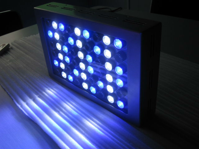 2012 newest remote 60cm 90cm 120cm intelligent set automatic operation & diy dimmable cree xpg led aquarium reef lighting