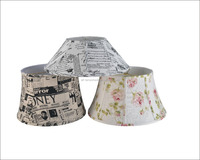 Factory Price Vintage Style Painted Softback Lamp Shade For Table/Desk Lamp