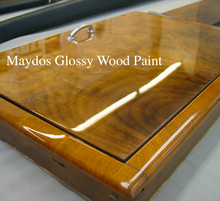 Maydos 2k spraying clear polyurethane wood colored paint