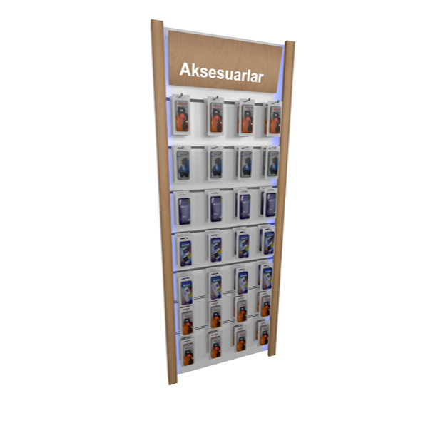 Retail Mobile Phone shop Interior Design Decoration with Mobile Phone Display Showcase