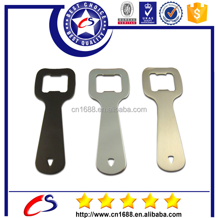 eco-friendly and metal material type aluminum beer bottle opener for promotional gift