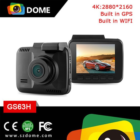 Mini car camera GS63H with 2.4inch LCD 150 wid angle lens loop recording parking monitor dash cam