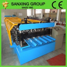 Sanxing Flat Corrugated Roof steel roll forming machine