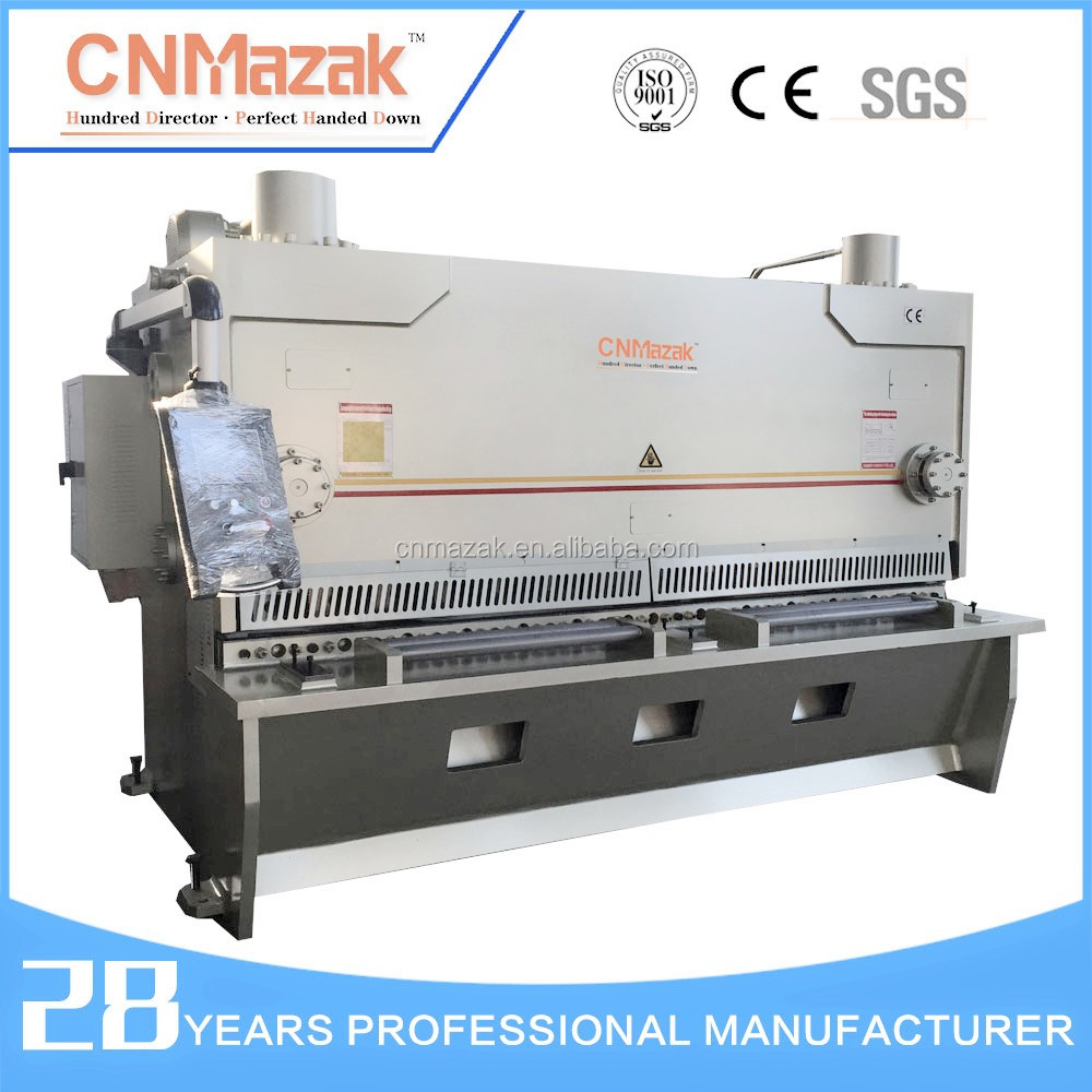 Metal cutting machine nc hydraulic guillotine shearing machine price, plate parting machine, plate to cut QC11Y-12*3200
