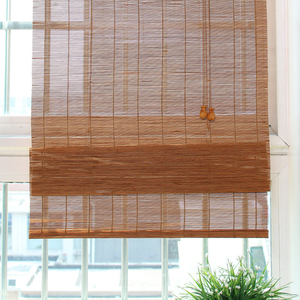 wholesale price customized roman bamboo blinds