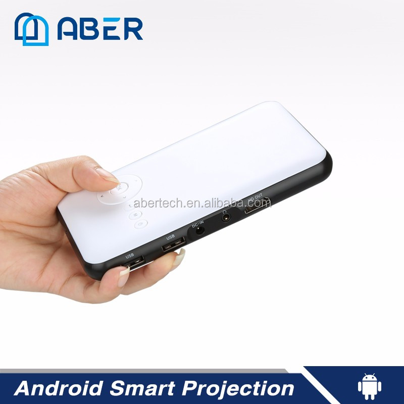 Office Equipment Mini LED Mobile Phone Projector Android