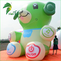 Replicate inflatable Promotion Attract Customers Helium Bear / Giant Inflatable Air Bear Animals Model