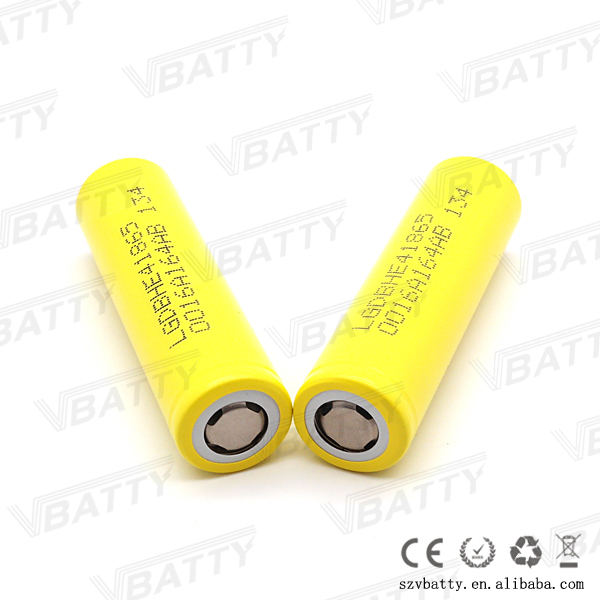 Authentic LG HE4 2500mah 20A 18650 rechargeable Lithium Ion Battery ,lg he4 18650 25oomah batery