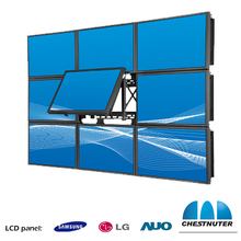 Chestnuter 47 inch tiled splicing video wall for live broadcast 1080 HD 3x3 4x4 lcd video wall