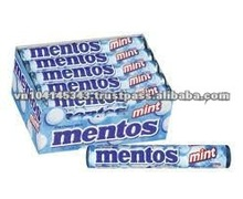 Mentos Mint 16rolls 24box/case confectionery