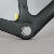 Chinese Carbon Fiber Disc Brake Carbon Cyclocross Bicycle Parts, Gravel Road Bike Frame with Fork