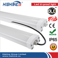 PC housing IP65 fluorescent fitting 1200mm led tri-proof light 40w