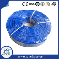 flexible 6 inch pvc irrigation lay flat hose for agriculture