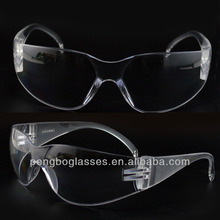 Polycarbonate 100% clear protective goggles for hospital