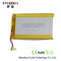 External battery 3.7V 1700mah battery rechargeable lithium ion battery