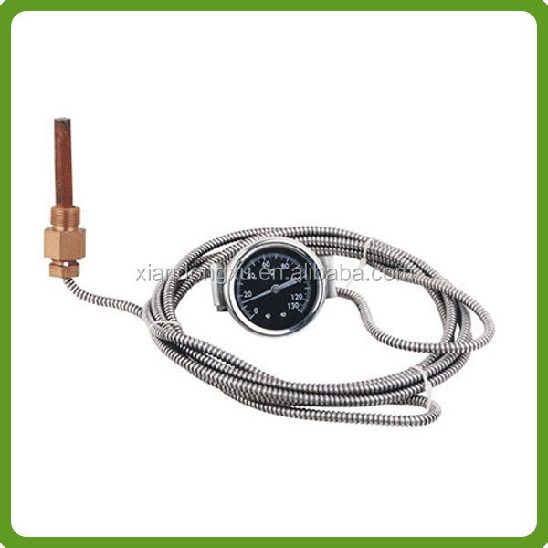 Direct manufacturer hot sell bimetal temperature dial gauge