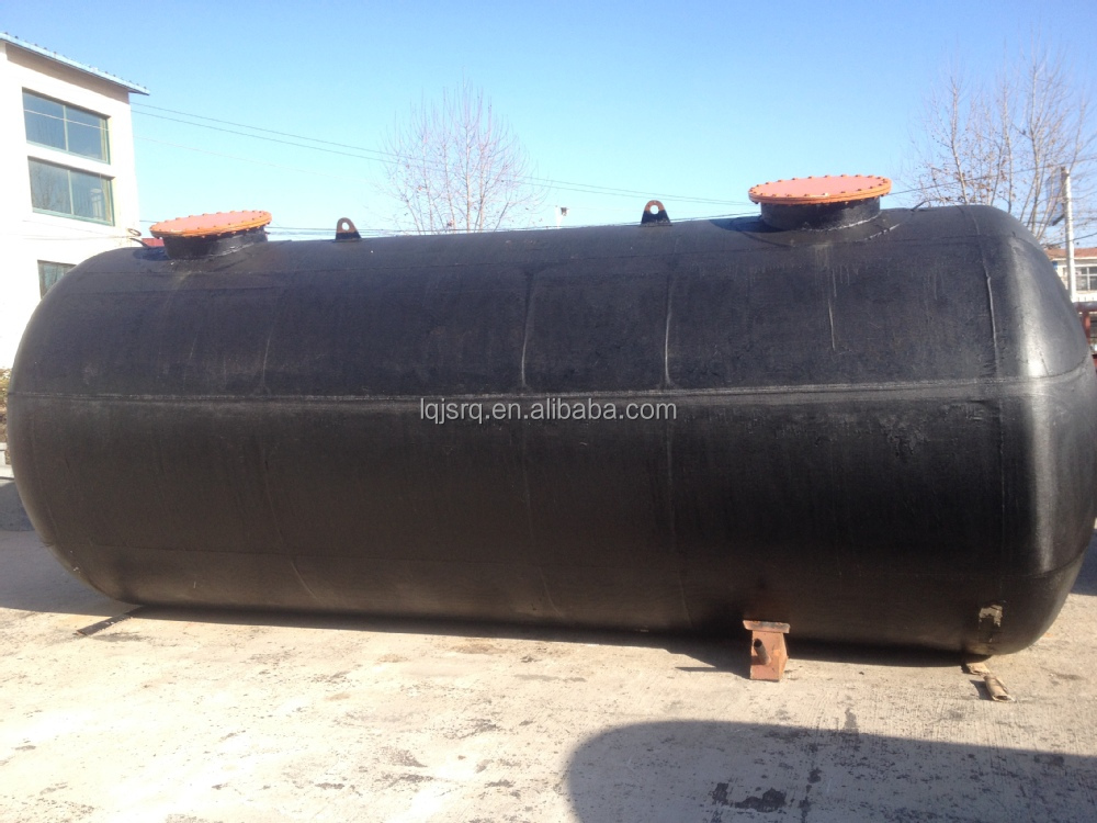Sold to foreign 8000L Glass Lined Tank For Various Oil Liquid Solution Material Vertical Type or Horizontal Type