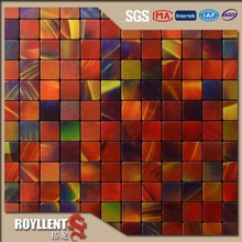 New style self adhesive wall paper mosaic tiles self stick