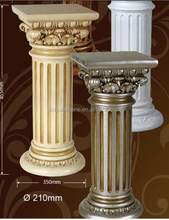 High quality polyurethane moulding Polyurethane Decoration Roman Column/pillar PU Roman Column /Home decor lighted wedding pil