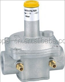 Aluminum gas regulator HP