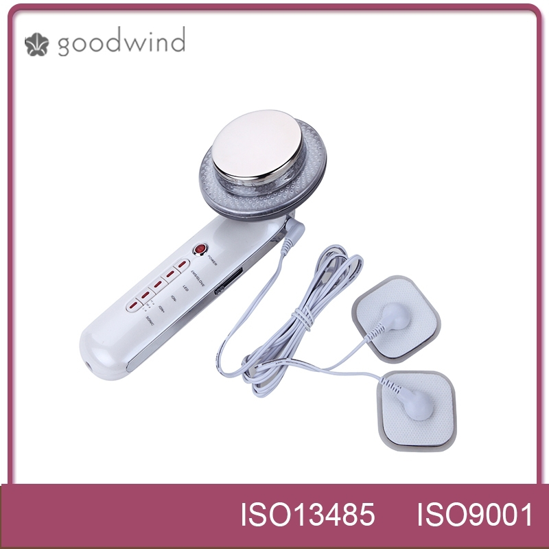 3 colors photon led skin rejuvenation microcurrent Ion+EMS home use ultrasound fat loss equipment