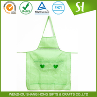wholesale promotional cotton/polyester/cleaning apron uniform