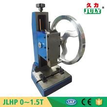 JULY fdactorey CE certificated small hand press machine for plastic bags
