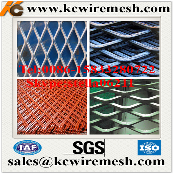 Factory!!!!! KangChen Diamond Expended Metal Lath/Expanded Metal Mesh for contruction,wall stucco,plaste