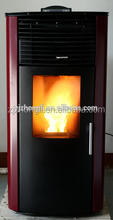 Hydro water heating circuit pellet boiler stove