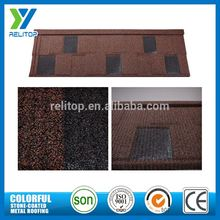 Stone coated metal roofing bent type tile
