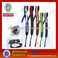 Wholesale neoprene croakies sunglasses strap eyewear strap bulk buy from china