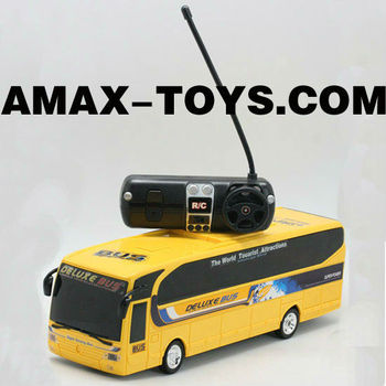 rem-31659 model bus rc Full Function Radio control bus With headlights & tail lights
