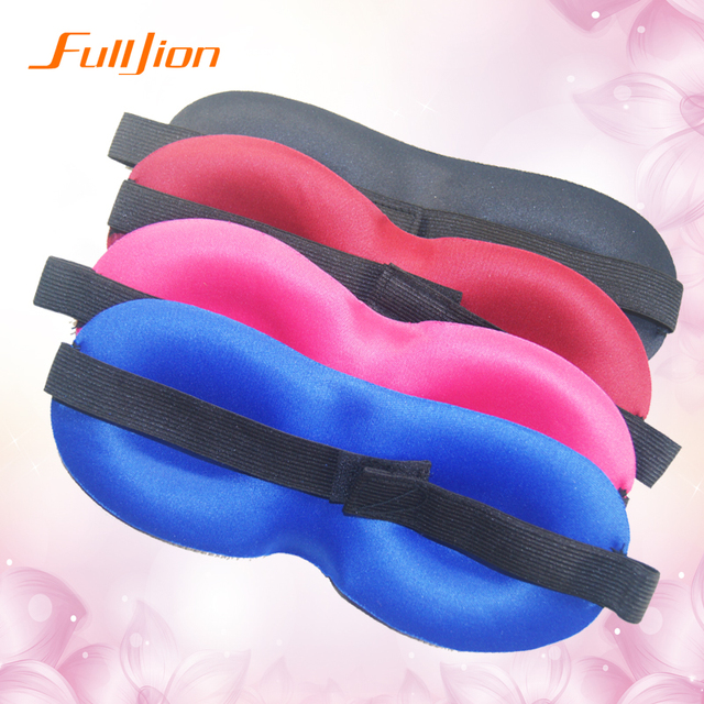 hot sale Travel Rest 3D Sponge EyeShade Sleeping Eye Mask Cover eyepatch blindfolds for health care to shield the light