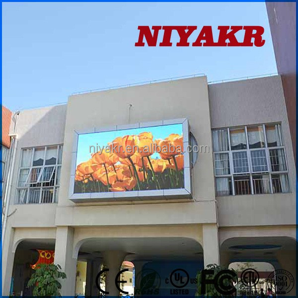 full color rental led screen linux all-in-one pc Niyakr 16x16 outdoor dot matrix RGB led display